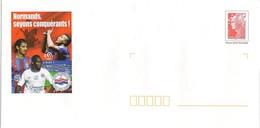 PAP 14 - CAEN - FOOTBALL - STADE MALHERBE -  CALVADOS - Entiers Postaux