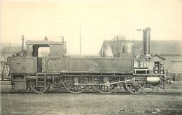 Thème Train Machine-tender 133 Paris Locomotives De L'Orléans CP Ed. H.M.P. N° 468 Locomotive Vapeur - Trains