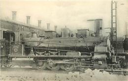 Thème Train Machine 2101 Toulouse Locomotives Du Sud-Ouest (ex Midi) CP Ed. H.M.P. N° 470 Locomotive Vapeur - Trains