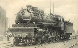Thème Train Machine 3203 Paris Locomotives Du Sud-Ouest (ex P.O) CP Ed. H.M.P. N° 476 Locomotive Vapeur - Trains