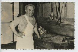 Carte Photo  Boucher Outils Billot (a Situer) - Artisanat