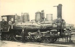 Thème Train Machine  391 Paris Locomotives Du Sud-Ouest (ex P.O) CP Ed. H.M.P. N° 478 Locomotive Vapeur - Trains