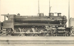 Thème Train Machine  185 S Saint Pierre Des Corps Locomotives Du Sud-Ouest (ex P.O) CP Ed. H.M.P. N° 483 Locomotive Vape - Trains