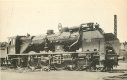 Thème Train Machine 4578 Limoges Locomotives Du Sud-Ouest CP Ed. H.M.P. N° 485 Locomotive Vapeur - Trains