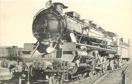 Thème Train Machine 141B 864 Brive Locomotives Du Sud-Ouest (ex P.O) CP Ed. H.M.P. N° 488 Locomotive Vapeur - Trains