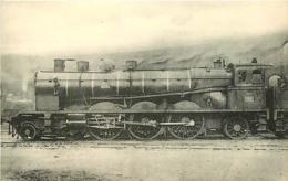 Thème Train Machine 3051 Bordeaux St Jean Locomotives Du Sud-Ouest (ex Midi) CP Ed. H.M.P. N° 498 Locomotive Vapeur - Trains