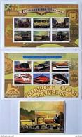 Mali 1996 ** Trains ( 17 II;5) - Trains