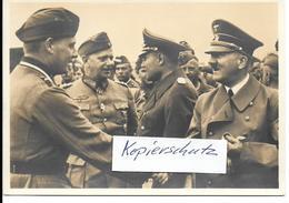 Propaganda, Hitler, Nazi, Drittes Reich, Hakenkreuz, Swastika, Ritterkreuz, Propagandakarte - Guerra 1939-45
