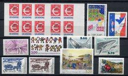 RC 11364 ST PIERRE ET MIQUELON SPM LOT ANNÉE 1999 - 2000 NEUF ** TB - Unused Stamps