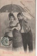 *** COUPLES  *** Le Parapluie - Historiette - TTB - Couples