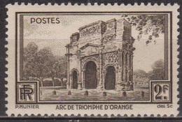 Tourisme, Sites Remarquables - FRANCE - Arc De Triomphe D'Orange - N° 389 **  - 1938 - France