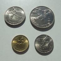 Lp PORTUGAL - 1983 - 4 Coins Set - World Roller Hockey Championship Games 82 - Portugal