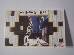 2000 PETIT CALENDRIER EN 2 VOLETS ALMANACH DES PTT 1960 PHARMACIE SCHVARTZ LANGRES (52) - Calendriers