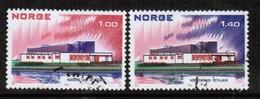NORWAY   Scott # 617-8 VF USED (Stamp Scan # 442) - Norway