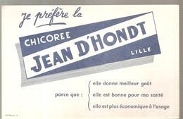 Buvard Chicorée JEAN D'HONDT à Lille - Café & Thé