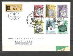 1965 - N. 1020/25 SU BUSTA CON ANNULLO PRIMO GIORNO (CATALOGO UNIFICATO) - FDC
