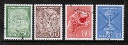 NORWAY   Scott # 586-9 VF USED (Stamp Scan # 442) - Norway
