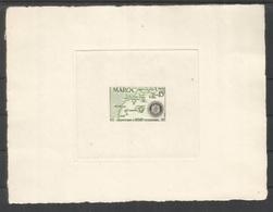 Maroc 344 Epreuve D'artiste. Marocco Artist Die Proof 1955 Rotary - Rotary, Lions Club