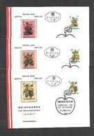 1966 - N. 1058/63 SU 6 BUSTE CON ANNULLO PRIMO GIORNO (CATALOGO UNIFICATO) - FDC