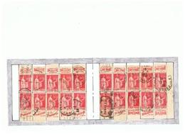 Carnet Type Paix :50c.rouge T.1;283-C1 Reconstitué :Arc En Ciel;L'art Vivant;Parizot;Benjamin - Advertising