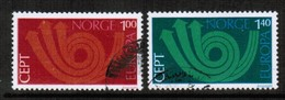 NORWAY   Scott # 604-5 VF USED (Stamp Scan # 442) - Norway