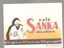 Buvard SANKA Café SANKA Décaféiné - Café & Thé
