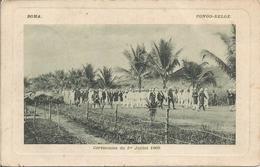 BOMA.  CONGO BELGE. Cérémonies Du 1er Juillet 1909. (scan Verso) - Autres