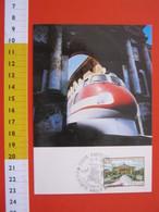 A.06 ITALIA ANNULLO - 1988 SAVIGLIANO CUNEO SELEZIONE FILATELIA PIEMONTE TRENO FIAT FERROVIARIA = PRODOTTO QUI - Trains