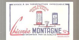 Buvard Chicorée MONTAGNE Economique Par Sa Qualité - Café & Thé