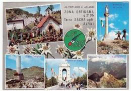 MILITARI - ALTOPIANO DI ASIAGO - ZONA ORTIGARA - TERRA SACRA AGLI ALPINI - 1967 - Monumenti Ai Caduti