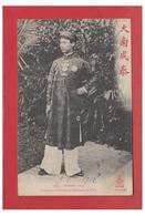 VIET-NAM -- ANNAM--HUE -- L'EMPEREUR D'ANNAM EN COSTUME CIVIL --CP 1912-- - Vietnam