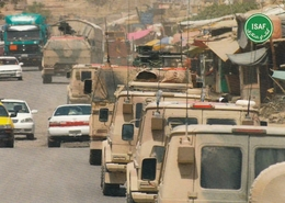 Afghanistan ISAF Forces Feldpost Postcard - Afghanistan