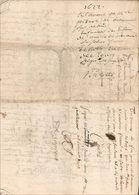 Testament De Pierre De Beaumont, Originaire Du Périgord - Manuscripts