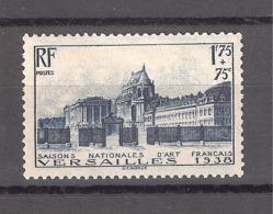 FRANCIA 1938. VERSALLES. YVERT Nº 379 MNH** (57,5€) - France