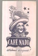 Buvard Café NADI Arôme Exquis! - Café & Thé