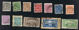 1920 25. Jan. Schleswig Mi 1 -  14   Yt  25 - 38  Sg  1 - 14 AFA 15 - 28 Zwei Plattenfehler 8 I Und 14 III S. Scan - Abstimmungsgebiete