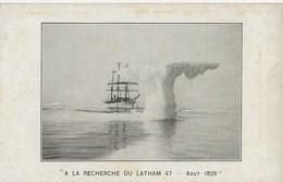 A LA RECHERCHE DU LATHAM 47  -  Août 1928 - Accidents