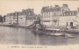QUIMPER :Départ Du Bateau De Bénodet - Quimper
