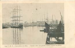 Boulognne Sur Mer - Bassin A Flot - Les Grands Voiliers Venant Des Indes    T 319 - Boulogne Sur Mer