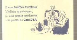 Buvard Café DYA Et Vous Grand'Papa, Grand'Maman - Café & Thé