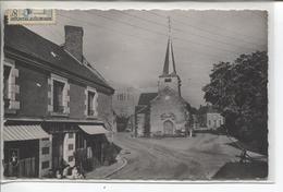 CPA - SURY ES BOIS - LA PLACE ET L EGLISE - Aubigny Sur Nere