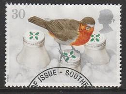 GB 1995 Christmas 30 P Multicoloured  SG 1898 O Used - 1952-.... (Elizabeth II)
