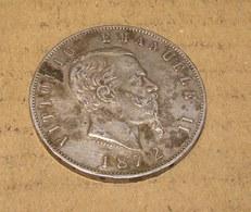 Pièce De 5 Lires Vittorio Emanuele II - 1861-1946: Königreich