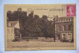 BRIONNE-la Place Defremont-les Deux Chateaux-societe Generale - France