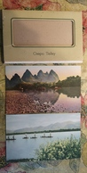 LAKE TAI Landscapes - 6 PCs SET - CHINA Postcard   - Old PC 1950s - Chine