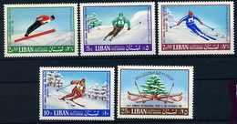 Liban ** PA N° 442 à 446 Sport - Liban