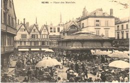 REIMS ... PLACE DES MARCHES - Demonstrations
