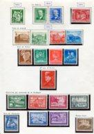 10901 ALLEMAGNE  Collection Vendue Par Page  */°  1940-41  B/ TB - Verzamelingen