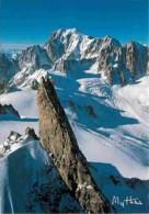 74 - Chamonix - Mont-Blanc - Dent Du Géant - Massif Du Mont-Blanc - Carte Neuve - Voir Scans Recto-Verso - Chamonix-Mont-Blanc