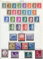 10902 ALLEMAGNE  Collection Vendue Par Page  */°  1941-43  B/ TB - Verzamelingen